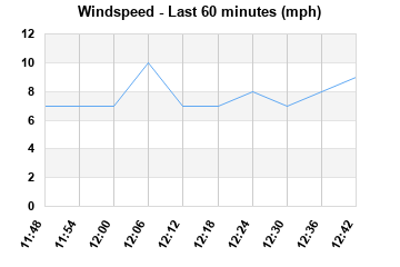 Windspeed last 60 minutes